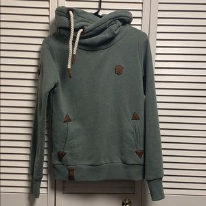 Fitted teal hoodie! Worn twice!